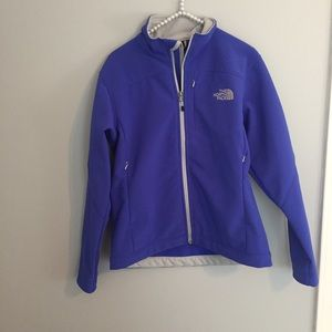 The North Face Blue Zip Up Coat